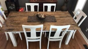 Custom Harvest Table- JUST THE TABLE 6ft