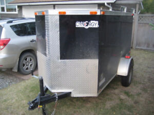 2017 Cynergy 8' Enclosed Trailer