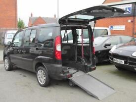 Fiat Doblo wheelchair adapted, disabled access, mobility car, WAV