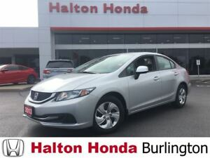 2013 Honda Civic LX / HEATED SEATS /BLUETOOTH