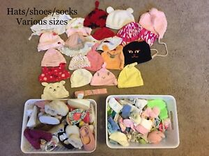 Baby girl clothes - Hats/socks/shoes