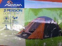 Aventura three person dome tent