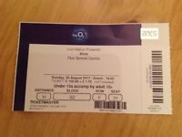 Bros ticket x 1 20th August 2017 London