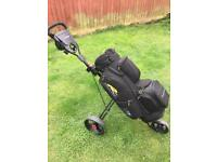 Golf trolley and cart bag