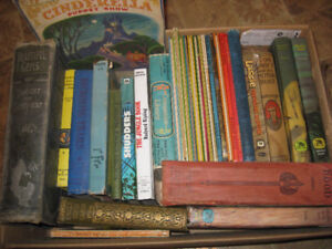 Vintage Antique Books, Children / Young Adult, 30 books
