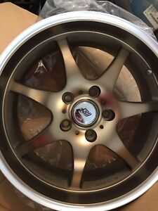 "Konig next 17"" bronze wheels 5on4.5/114.3 BRAND new $520 OBO"