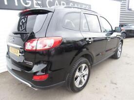 HYUNDAI SANTA FE 2.2 PREMIUM CRDI 5d AUTO 194 BHP (black) 2012
