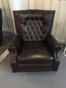 Leatherette Rocker Chair
