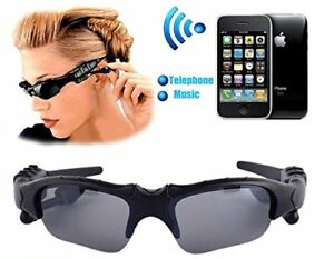 Motorcycle glasses bluetooth MP3 Music Sun Glasses Headset @18