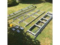 bRI STOR easy load ladder rack fir van