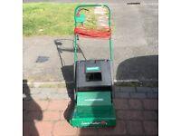 Qualcast Electric Lawn Raker/Scarifier