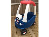 LITTLE TIKES COZY COUPE UNION JACK LTD EDITION