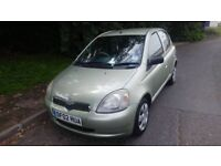 TOYOTA YARIS GLS VVTI, 1.3// 5 DOORS HATCHBACK//1 YEAR FRESH MOT £850