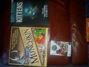 Board games 3 for $35
