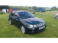 ROVER 25 1.4l 62,000 miles Part service history MOT until 06 Jun 2018 Brand new front tires £650 ONO