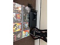 PS3 with 28 games and guitar