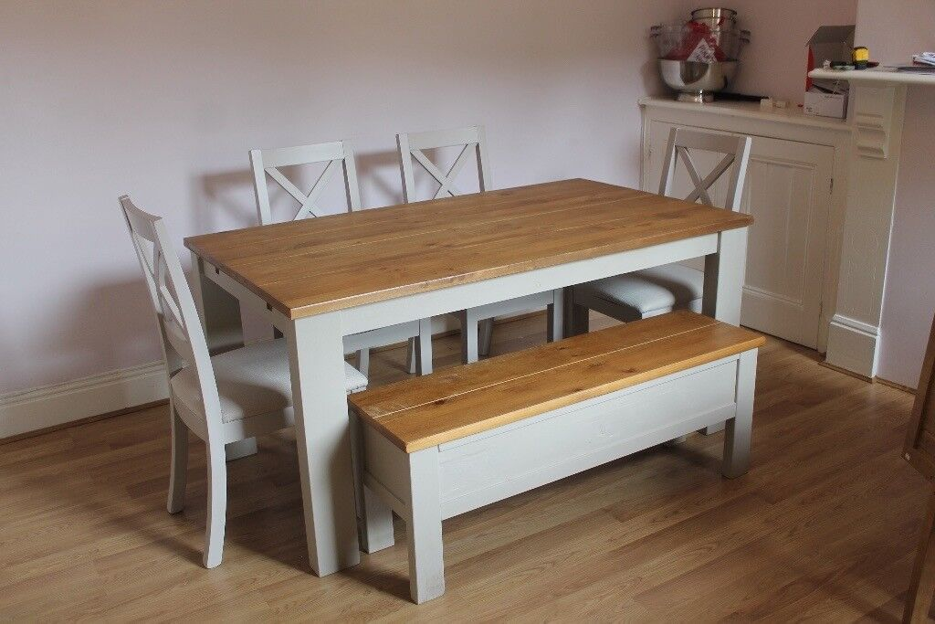 Next Home 6 8 Seater Extending Dining Table Chairs And