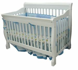 Tammy Convertible Crib - white