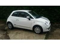 Fiat 500 1.2 Pop 2009 64k white