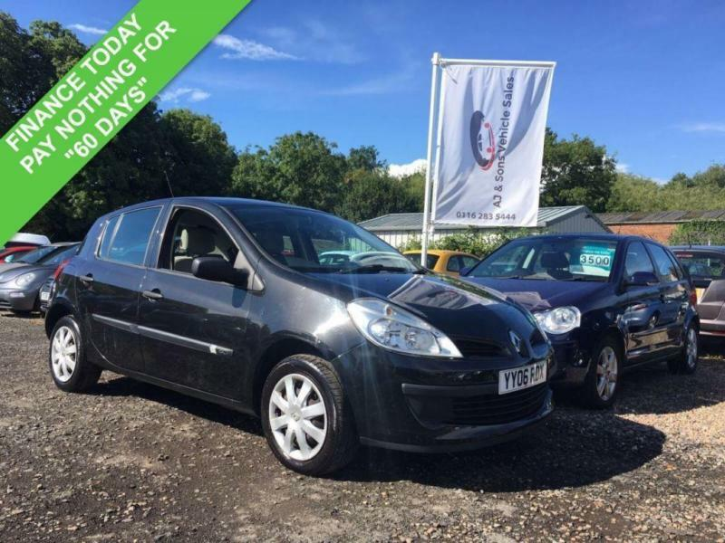 2006 06 RENAULT CLIO 1.5 DCI EXPRESSION 5DR 86 BHP DIESEL