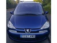 2007 Peugeot 807 2.0HDi 7 seats Long Mot 07/2018 One keepers 120 non FAP MY SE