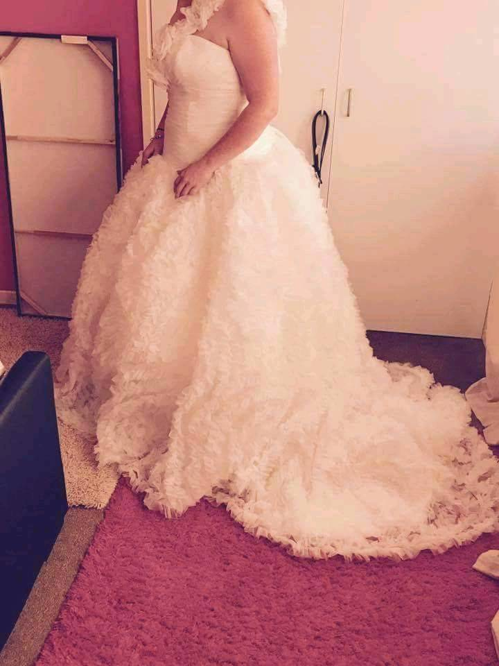 Maggie Sottero wedding dress 16-18