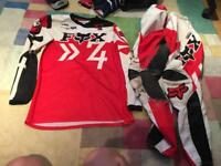 Motocross gear (FOX)