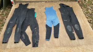 Wet suits for canoe kayak paddle board