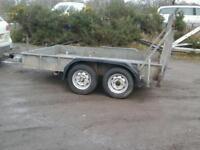 Indespenson plant trailer 10x6 like ifor williams no vat