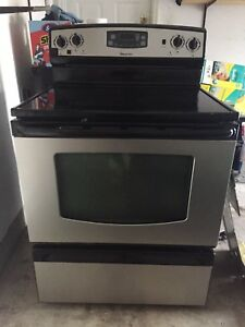 Fridge microwave and stove for sale
