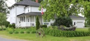 Country Home with In-law Suite or Legal Apartment