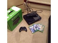 XBOX ONE 500GB/KINNECT/GAMES/WIRELESS CONTROLLER