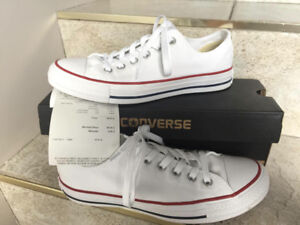 Converses blanches 7.5