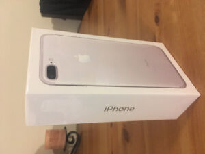 iPhone 7 Plus Unlocked, Never Before Opened for Sale in White/Si