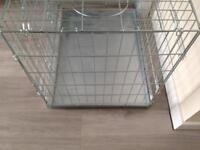 Metal Zinc Dog Crate