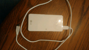 LG Portable Charger USB Type C