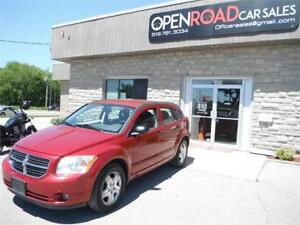 2007 Dodge Caliber SXT**ONE OWNER**CERTIFIED**LOW KMS**CLEAN**