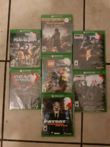 Xbox one games $10.00 each