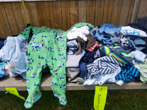 Baby Boy Clothes and Other Baby Items