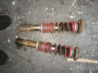 Vauxhall Corsa B (also fits Combo van) Front coilovers.