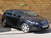 Seat Leon 1.6 TDI CR Ecomotive SE Copa 5dr SAT NAV (deep black metallic) 2012