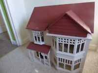 LARGE - one off Wooden Dolls House - Heavy