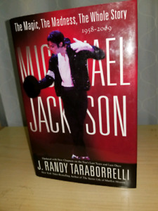 Massive hardcover old new stock Micheal Jackson book-the Story!