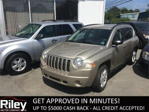 2010 Jeep Compass Sport STARTING AT $98.94 BI-WEEKLY