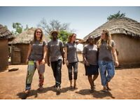 Join a team of International Volunteers on a UK government funded placement