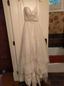 Wedding Dress - Sheer and Lace
