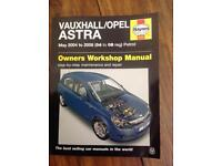 Haynes manual. Vauxhall/Opel Astra 04 to 08