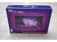 New Nintendo 3DS XL Galaxy Style Brand New £250