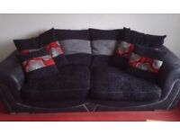 3 and 2 seater sofa duo