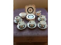 Vintage Newtown Fine Bone China tea set.